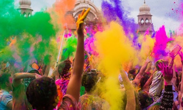 India, Festival de colores Holi